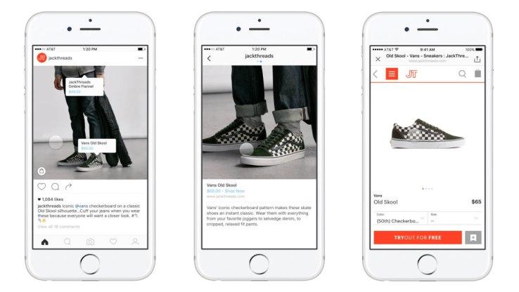 diseño web valencia madridvincular tus productos con Facebook e Instagram