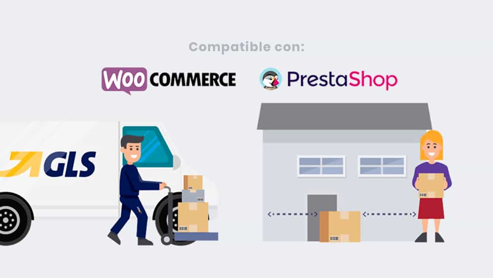 gls transporte woocommerce integrar